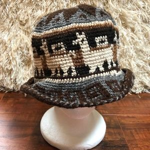 Vintage Native HIPPIE ket Crusher Hat